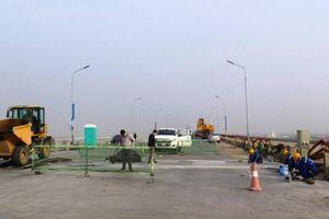 Cầu Thăng Long sẽ được bảo vệ bằng cân tải trọng và biển giới hạn tốc độ