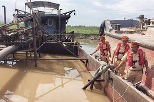 Xử lý dứt điểm tình trạng khai thác cát, sỏi trái phép tại Hà Nội