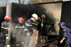 Cháy cơ sở sản xuất, chế biến gỗ