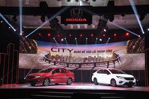 Honda City 2021 tại Việt Nam, cao nhất gần 600 triệu đồng