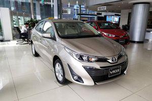 Bảng giá xe Toyota tháng 12/2020