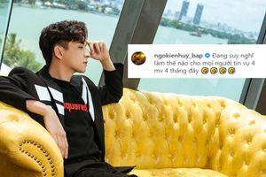 Ngô Kiến Huy tiết lộ làm 4 MV 4 tháng, liệu có hit tiếp theo trong sự nghiệp?