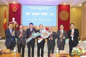 Hai tân Phó Chủ tịch UBND tỉnh Khánh Hòa vừa đắc cử là ai?