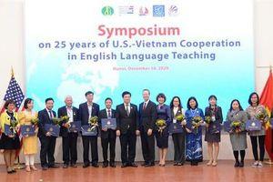 Nhiều nhà giáo xuất sắc được Hoa Kỳ đưa tới làm việc tại Việt Nam