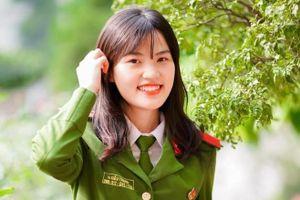 4 bông hồng xinh đẹp, tài năng của HV Cảnh sát nhân dân