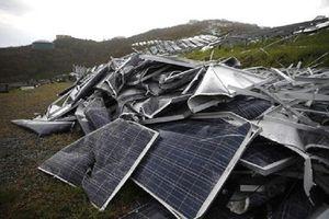 Một doanh nghiệp bị phạt nặng vì nhập phế liệu pin năng lượng mặt trời