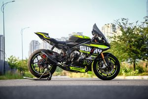 Yamaha R1 được độ hàng trăm triệu đồng tại TP.HCM, mạnh như superbike