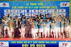 U17 PVF vô địch giải U17 Cup Quốc gia 2020