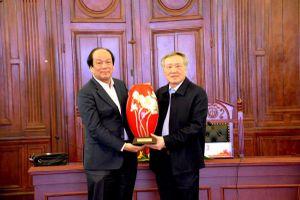 Chánh án TANDTC làm việc với Bộ trưởng, Chủ nhiệm Văn phòng Chính phủ