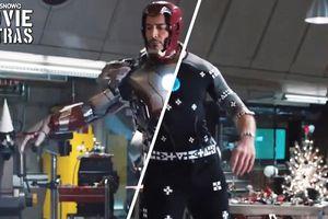 Ảnh hậu trường hé lộ lần đầu tiên Robert Downey Jr. mặc bộ giáp Iron Man