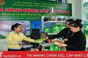 Cửa hàng nông sản an toàn - kênh tiêu thụ sản phẩm hiệu quả của nông dân Hà Tĩnh