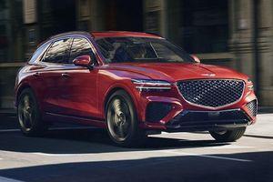 2022 Genesis GV70i ngoại hình sành điệu, 'đấu' với Audi Q5 và BMW X3