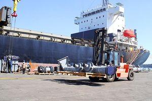 Doosan Vina xuất kết cấu lò hơi CFB đến nhà máy điện sinh khối Sodegaura(Nhật Bản)