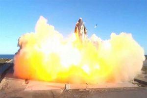 Tên lửa Starship của SpaceX phát nổ khi hạ cánh trong một buổi phóng thử nghiệm