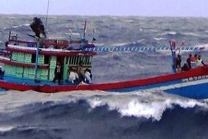 Điều tra tin báo 4 ngư phủ bị chém, đẩy xuống biển