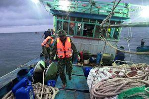 12 ngư dân gặp nạn trên biển Cù Lao Chàm