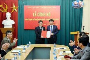 Bổ nhiệm Giám đốc Trung tâm Hải Văn