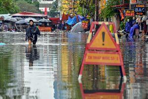 Nhiều nơi ở TP.HCM có nguy cơ ngập trong 4 ngày tới