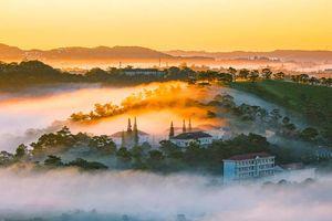 Săn mây trên đồi Đa Phú