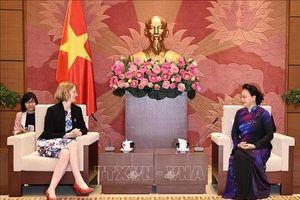 Chủ tịch Quốc hội tiếp Đại sứ các nước New Zealand, Chile và Indonesia