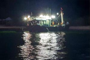 Kịp thời ứng cứu 12 lao động gặp sự cố trên biển