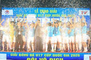 PVF vô địch giải U17 Cúp Quốc gia 2020