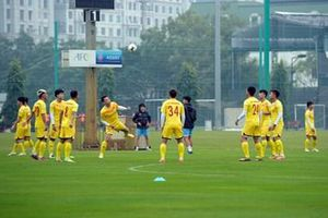 Bóng đá Việt Nam ứng phó với lịch thi đấu dày đặc