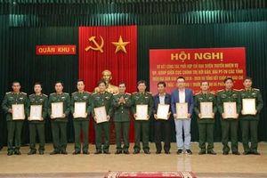 Tăng cường phối hợp tuyên truyền nhiệm vụ quốc phòng, quân sự địa phương