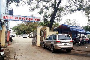 Cấm đỗ xe trên các tuyến, đoạn tuyến đường xung quanh một số bãi đỗ xe tạm