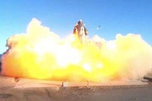 Tàu vũ trụ thử nghiệm Starship SN8 của SpaceX phát nổ khi hạ cánh