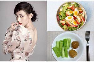 Mỹ nữ Trương Thiên Ái tiết lộ thực đơn giảm cân với trứng và dưa chuột để có được body mãn nhãn