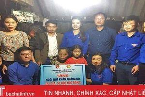 Đoàn Thanh niên Lộc Hà vận động, quyên góp 1,3 tỷ đồng làm từ thiện