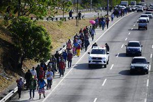 Các nước Trung Mỹ tìm cách giải tán đoàn người di cư Honduras