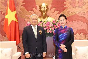 Chủ tịch Quốc hội tiếp Đại sứ New Zealand, Đại sứ Chile và Đại sứ Indonesia