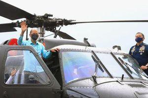 Không quân Philippines ra mắt 6 trực thăng S-70i Black Hawk đầu tiên