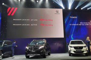 Cận cảnh Peugeot 2008 tại Việt Nam, cao nhất 829 triệu đồng
