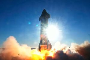 SN8 của Space X thử nghiệm thành công
