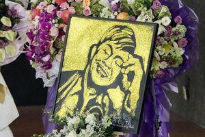 Bí ẩn về bức tranh vẽ duy nhất trưng bày tại đám tang nghệ sĩ Chí Tài
