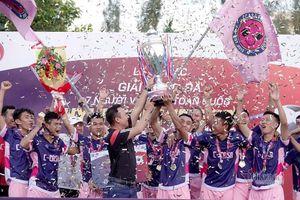 C-Casa lên ngôi vô địch bóng đá 7 người miền Trung