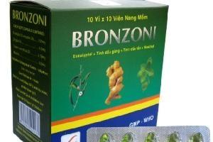 Công ty Dược phẩm Đông Nam sản xuất thuốc Bronzoni không đạt chất lượng