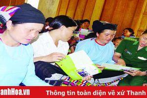 Đẩy mạnh công tác tuyên truyền pháp luật cho cán bộ, hội viên phụ nữ vùng miền núi