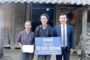 Danko Group tài trợ 50 triệu đồng cho hộ nghèo huyện Võ Nhai