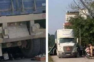 Xót xa gia cảnh hai chị em tử vong vì bị xe container lùi trúng khi đi học