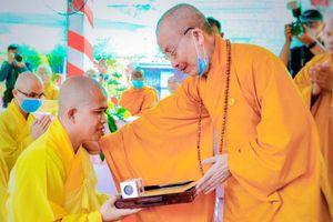 Tây Ninh: Bổ nhiệm trụ trì chùa Vạn Đức