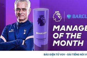 Mourinho và Bruno Fernandes xuất sắc nhất Ngoại hạng Anh tháng 11