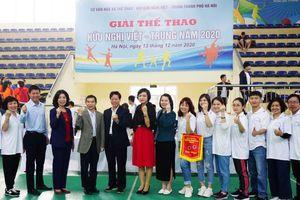 Sôi động Giải thể thao hữu nghị Việt - Trung năm 2020