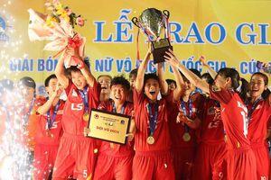 Đội TP Hồ Chí Minh I đoạt cúp Giải bóng đá nữ vô địch quốc gia - Cúp Thái Sơn Bắc 2020