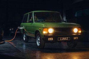 Range Rover cổ điển độ xe điện đắt ngang Rolls-Royce Cullinan mới
