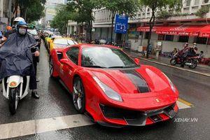 Ferrari 488 Pista Spider khoảng hơn 30 tỷ lăn bánh tại Sài Gòn