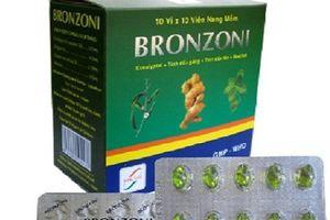 Thu hồi toàn quốc lô thuốc viên nang mềm Bronzoni